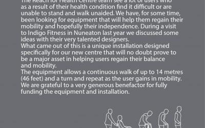 State of the art rehabilitation equipment: Monorail